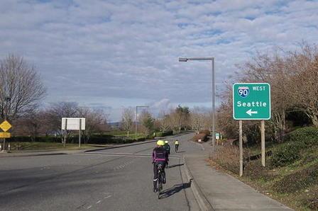 South Bellevue Mercer Island Loop